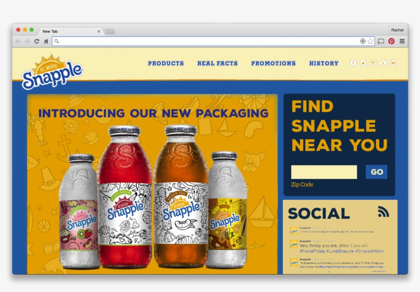 Nsac Snapple Campaign - Snapple Tea Variety Pack (20 Oz. Bottles, 24 Pk.), transparent png #3269688
