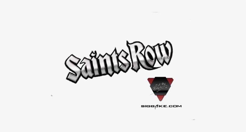 Saints Row 4 Logo Render Free Forum Sigs Gallery - Saints Row 3, transparent png #3269961