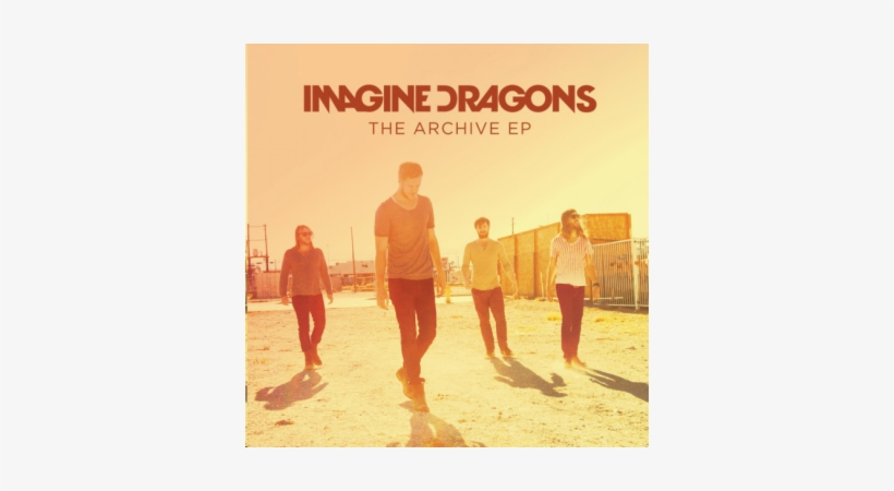 Imagine Dragons Font - Imagine Dragons Round And Round Cover, transparent png #3270146