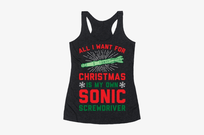 All I Want For Christmas Is My Own Sonic Screwdriver - Rain Drop Drop Top Quotes, transparent png #3270467