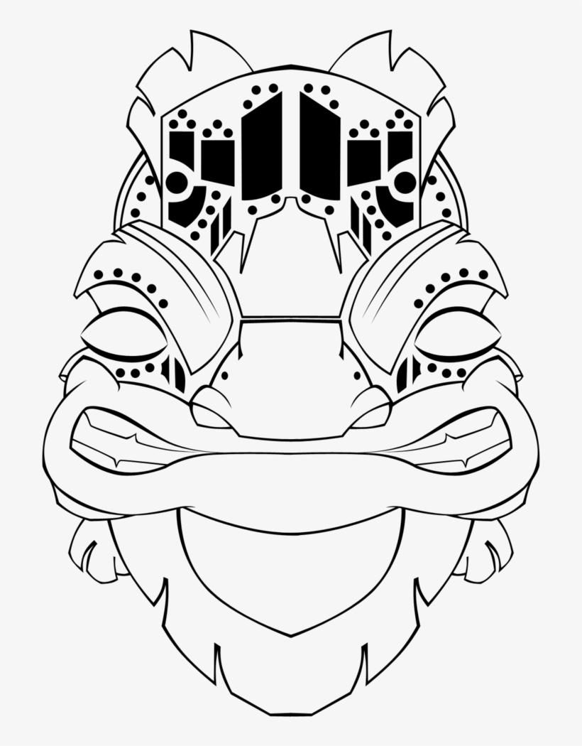 Desenho De Mascaras Africana Free Transparent Png Download Pngkey
