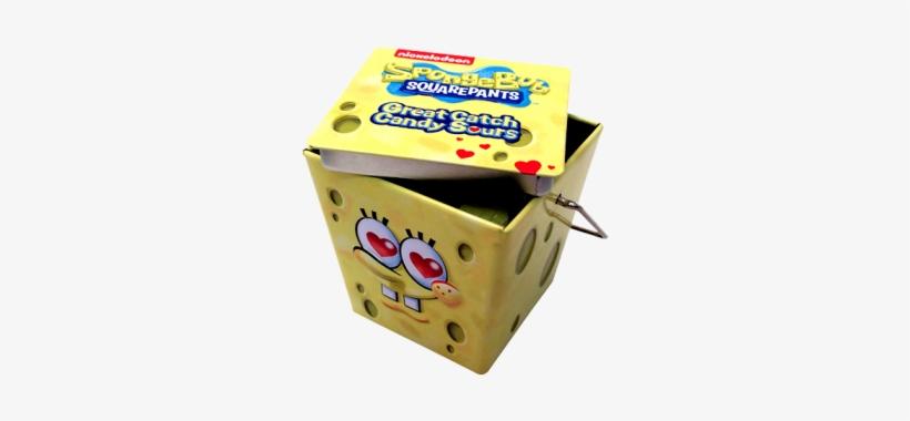 Spongebob Great Catch Hearts Sours - Boston America Spongebob Great Catch Candy Sours, transparent png #3273998