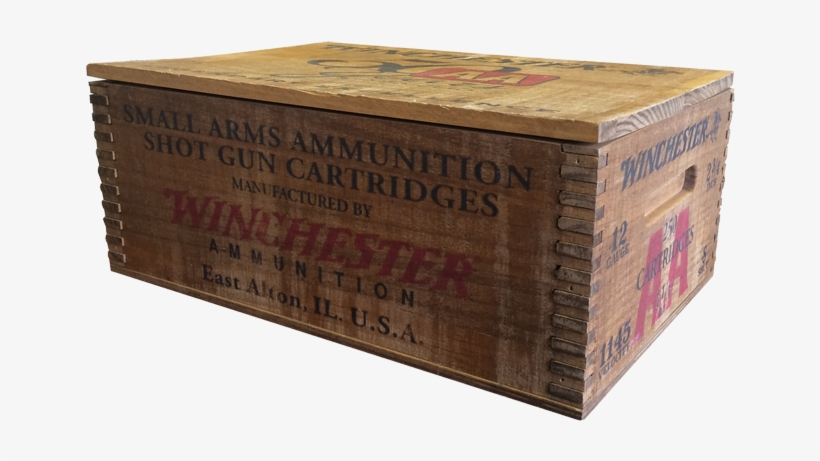Winchester Aa 50th Anniversary Shotshells 12 Ga - Winchester Aa 12ga 2.75'' 1-1/8oz #8 Wood Box 250/bx, transparent png #3276842