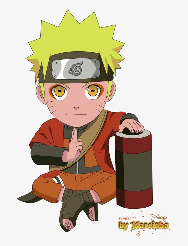 Chibi Naruto By Marcinha20 - Uzumaki Naruto Chibi, transparent png #3276902