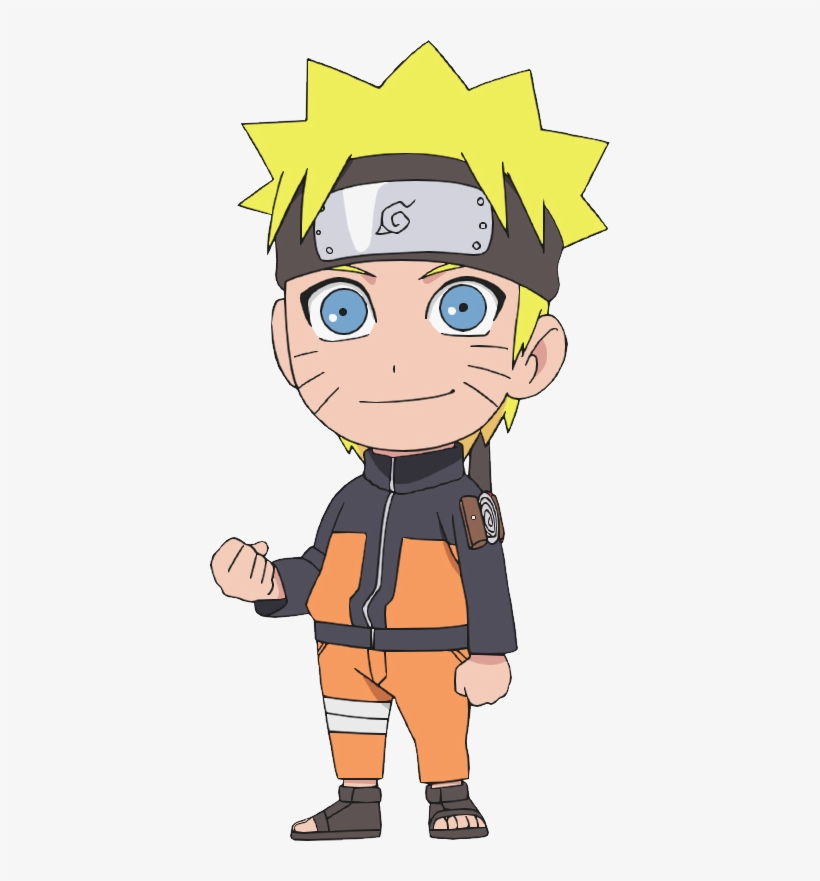 Naruto Uzumaki's Full Appearance - Naruto Chibi, transparent png #3276958