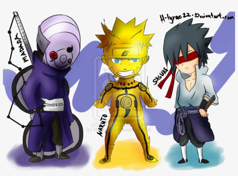 Sasuke Vs Naruto Chibi - Naruto Sasuke Chibi The Last, transparent png #3277179