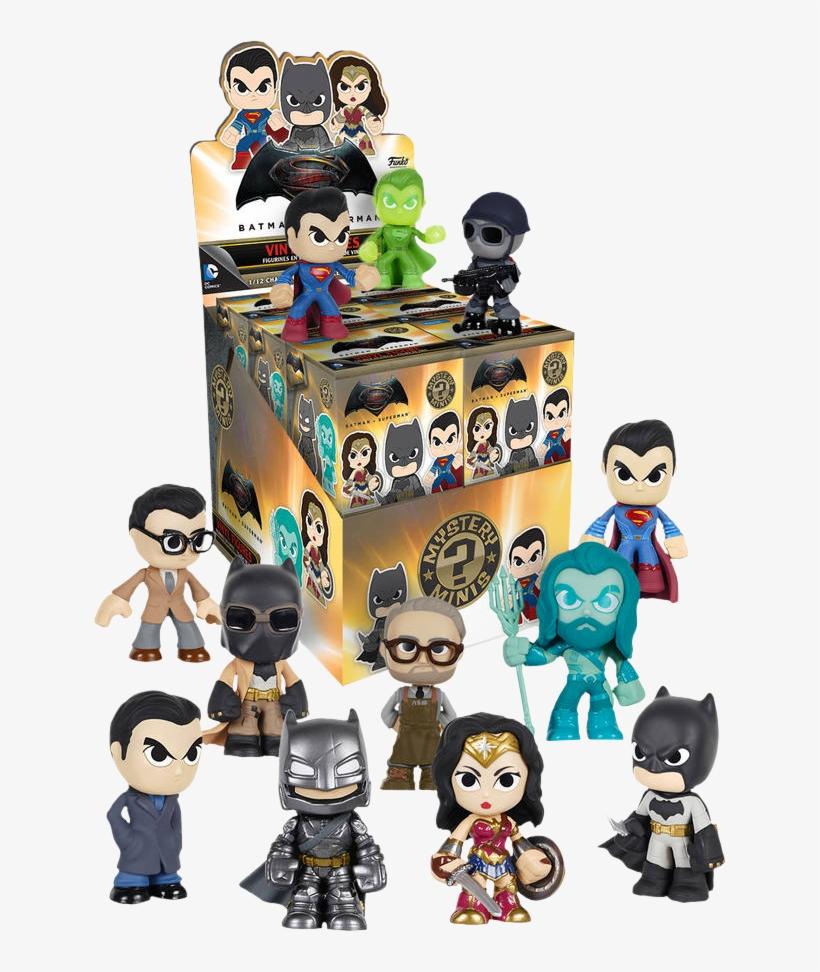 Batman Vs Superman - Funko Dc Batman V Superman Mystery Minis Mystery Box, transparent png #3277397