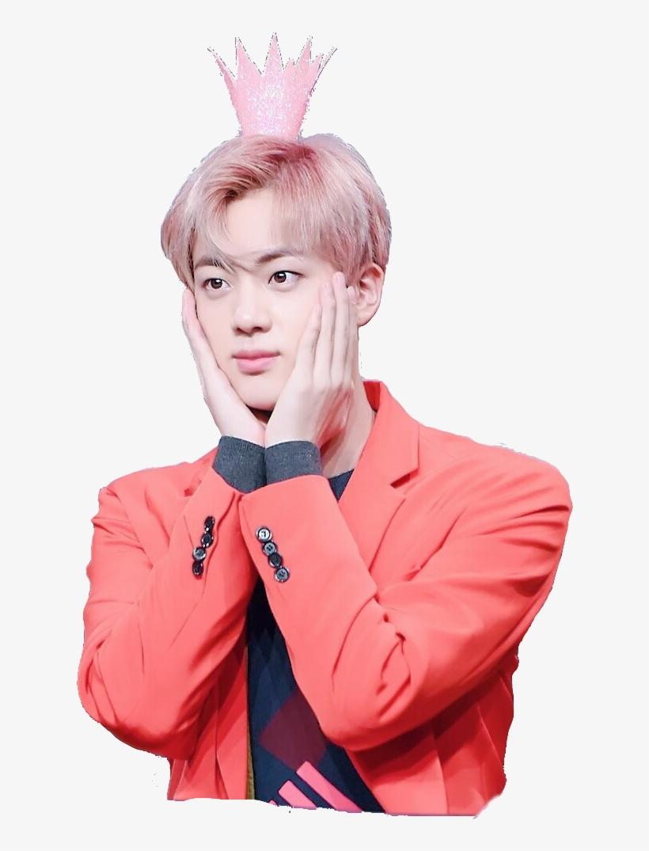 Bts Bangtan Boys Bts Jin Bts Seokjin Pink Princes Bts Jin At Fansign Event Free Transparent Png Download Pngkey