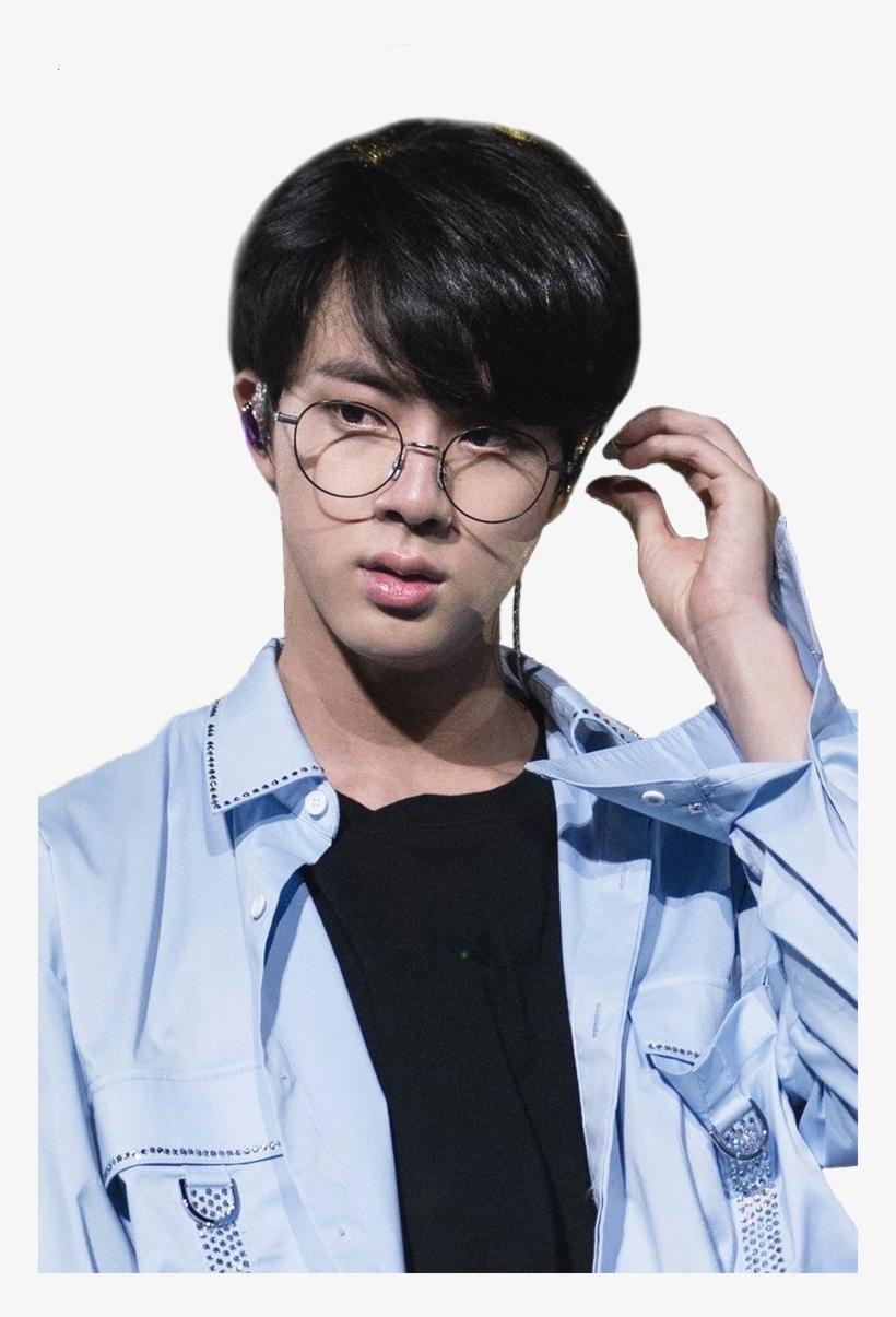 Bts Jin And Seokjin Image Kim Seokjin Wearing Glasses Free