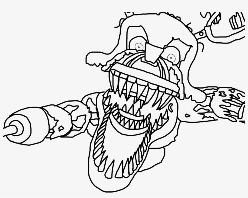 FNAF Toy Chica coloring page | Free Printable Coloring Pages | 655x820