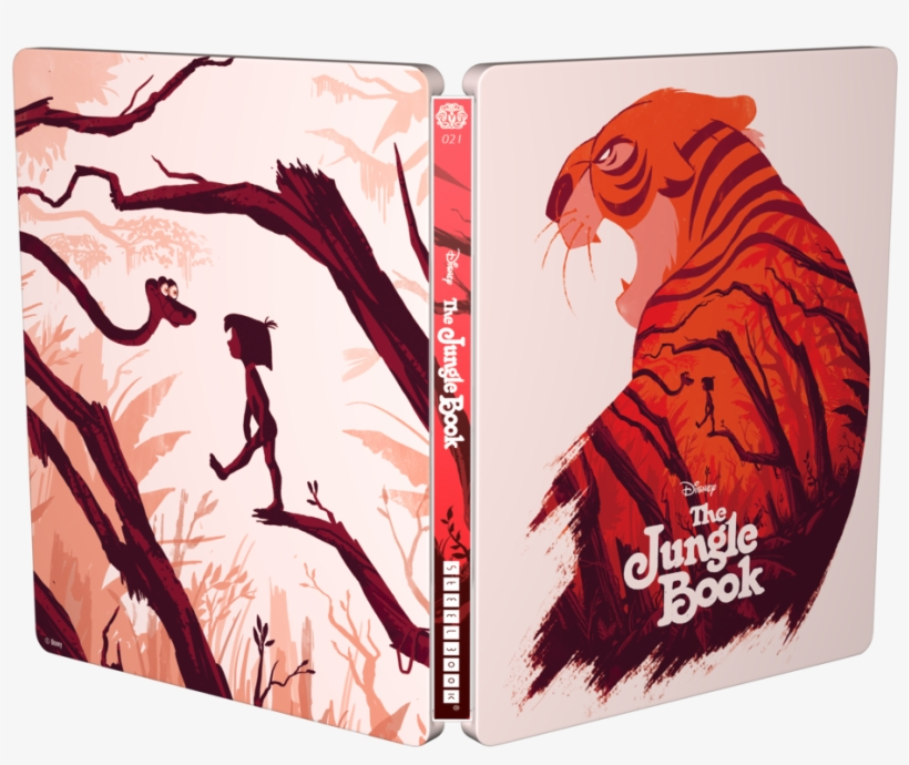 2017 Disney - Jungle Book Mondo Steelbook, transparent png #3281931