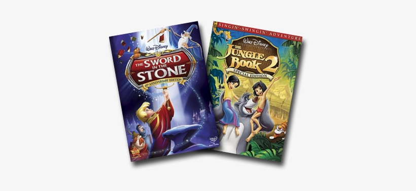 Chance To Win The Latest Animated Dvds From Walt Disney - Disney Sword In The Stone Dvd, transparent png #3281937