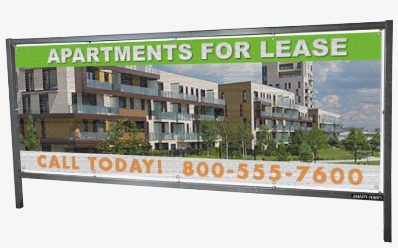 3×8 Outdoor Banner Frame - Vinyl Banners, transparent png #3282066