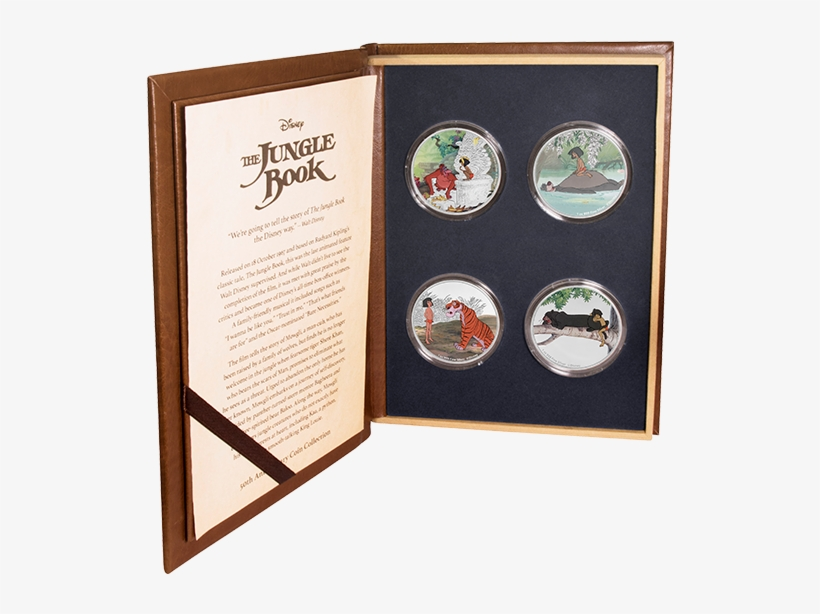 Jungle Book 50th Anniversary Coins, transparent png #3282115