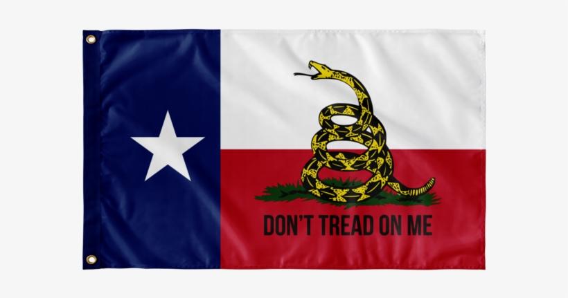 Texas Gadsden Flag - Don T Tread On Me, transparent png #3284233