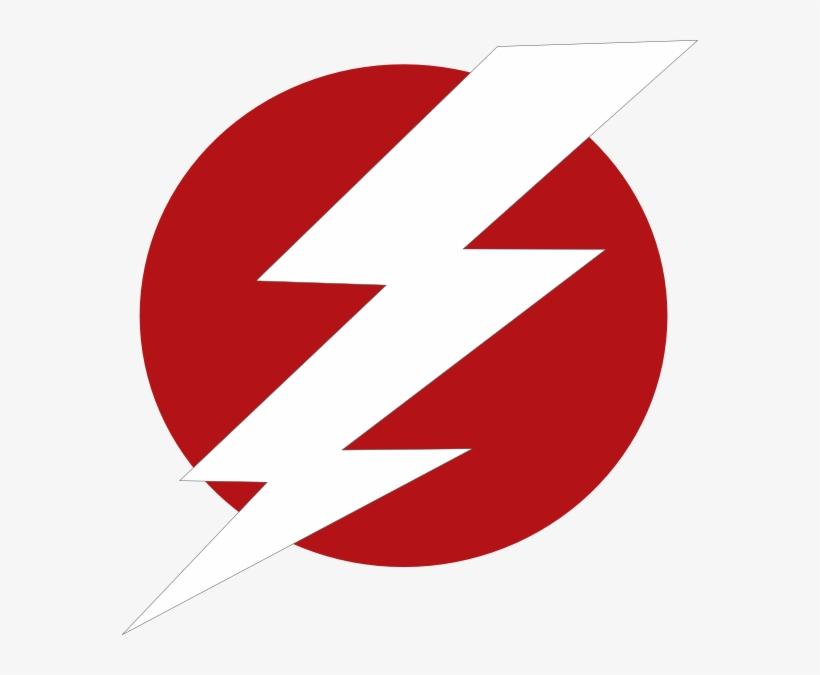 Red Lightning Bolt Clipart 6 By Wendy - Red Lightning Bolt Logo, transparent png #3286428