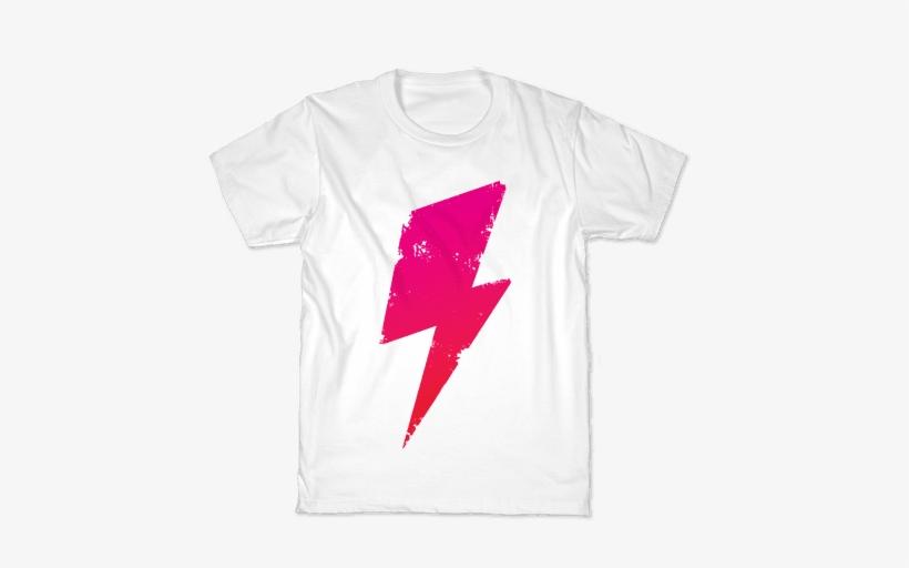 Lightning Bolt Kids T-shirt - Kids Harry Potter Shirt, transparent png #3286505