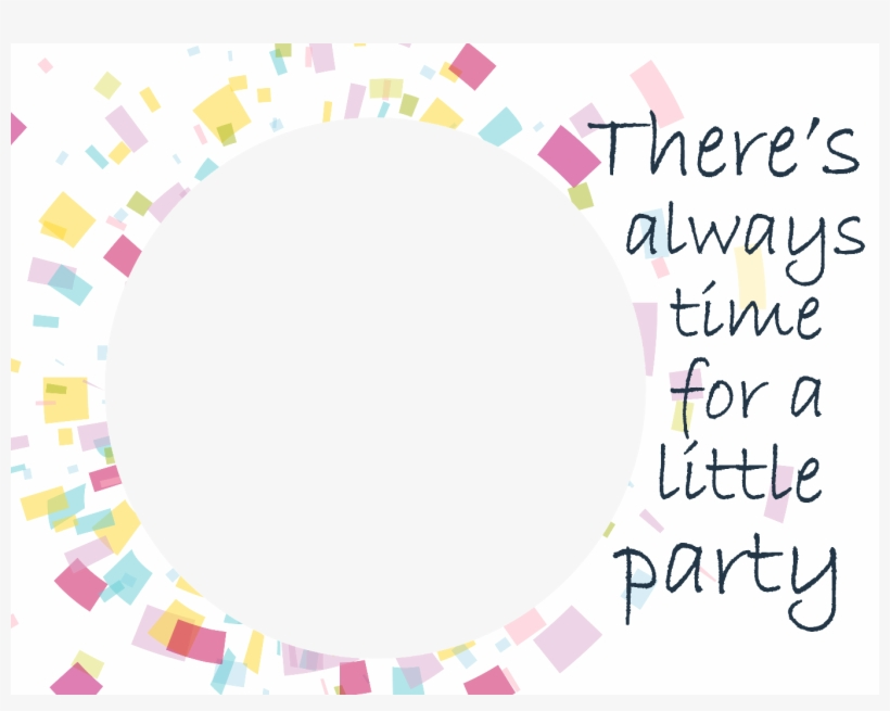 Personalize This Sample Image From The Party Time Frame - After I Wine A Little Shower Curtain, transparent png #3287306