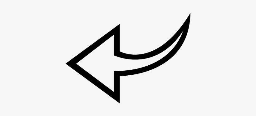 White Curved Arrow Png Left Arrow Curved Outline White Arrow Back Png Free Transparent Png Download Pngkey Download white arrow png free icons and png images. white curved arrow png left arrow