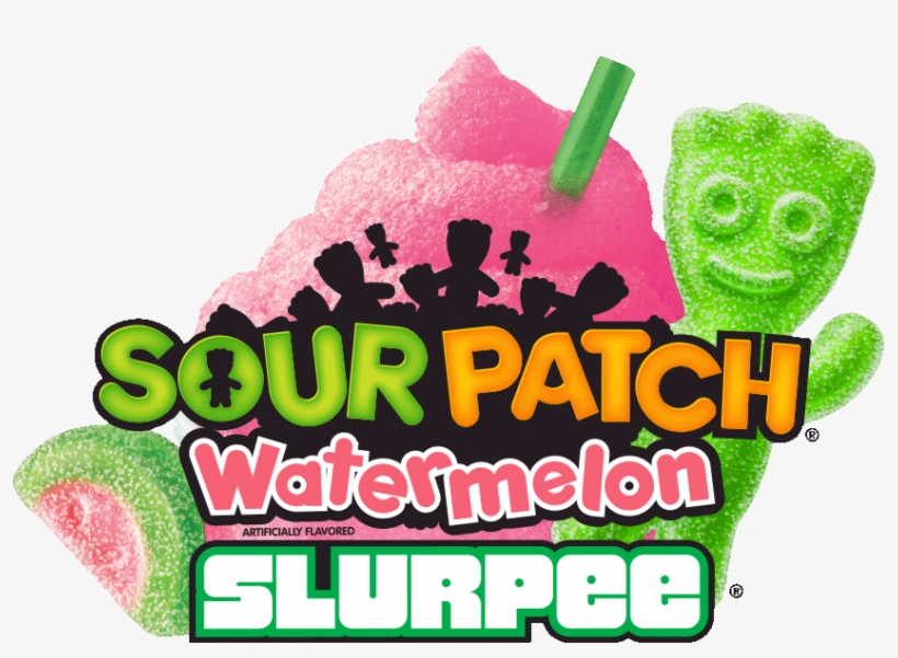 This Summer At A 7-11 Near You - Sour Patch Redberry Slurpee, transparent png #3291176
