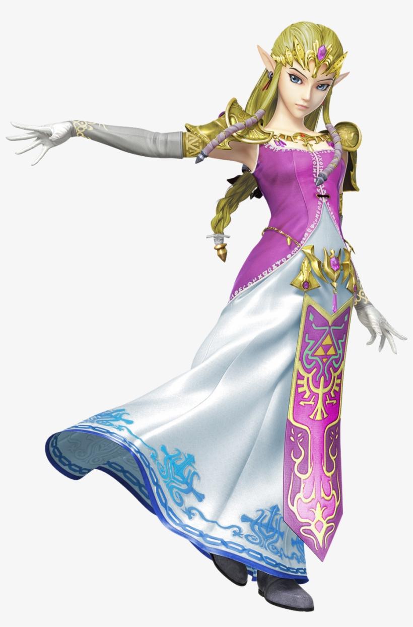 Princesses Prefer Pink - Super Smash Bros Wii U Zelda, transparent png #3293188