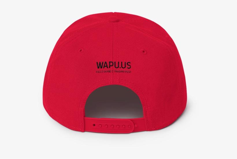 43100ada0a6 Home   Accessories   Hats   Wapuu Flat Bill Snapback - Baseball Cap ...