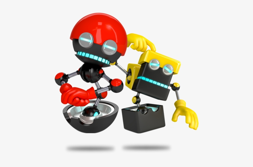 Orbot And Cubot Sonic Boom Sonic Boom Eggman Robots Free Transparent Png Download Pngkey