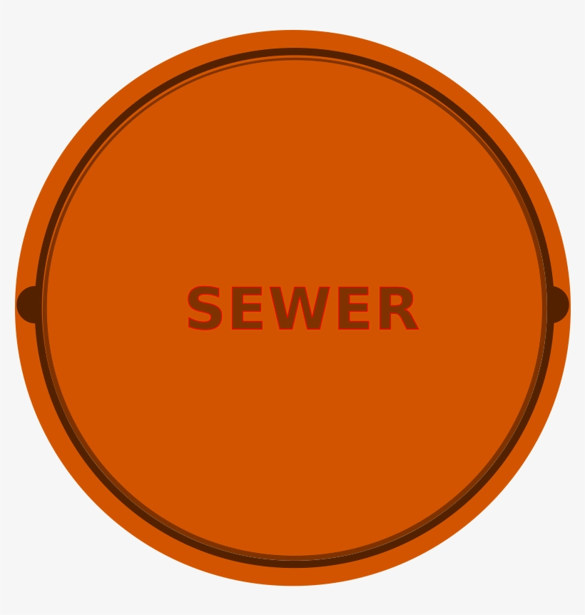 This Graphics Is Manhole Cover About Cleaning, Manholes, - Design, transparent png #3296880