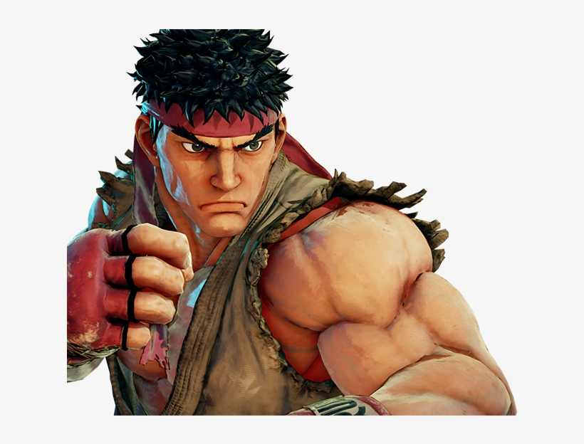 Ryu - Ryu Street Fighter, transparent png #3297253