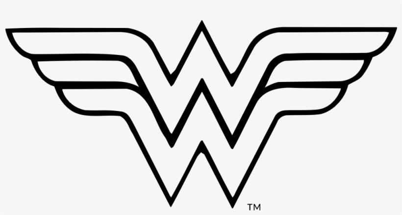 Superman Superman Wonder Woman Emblem Black And White Free Transparent Png Download Pngkey