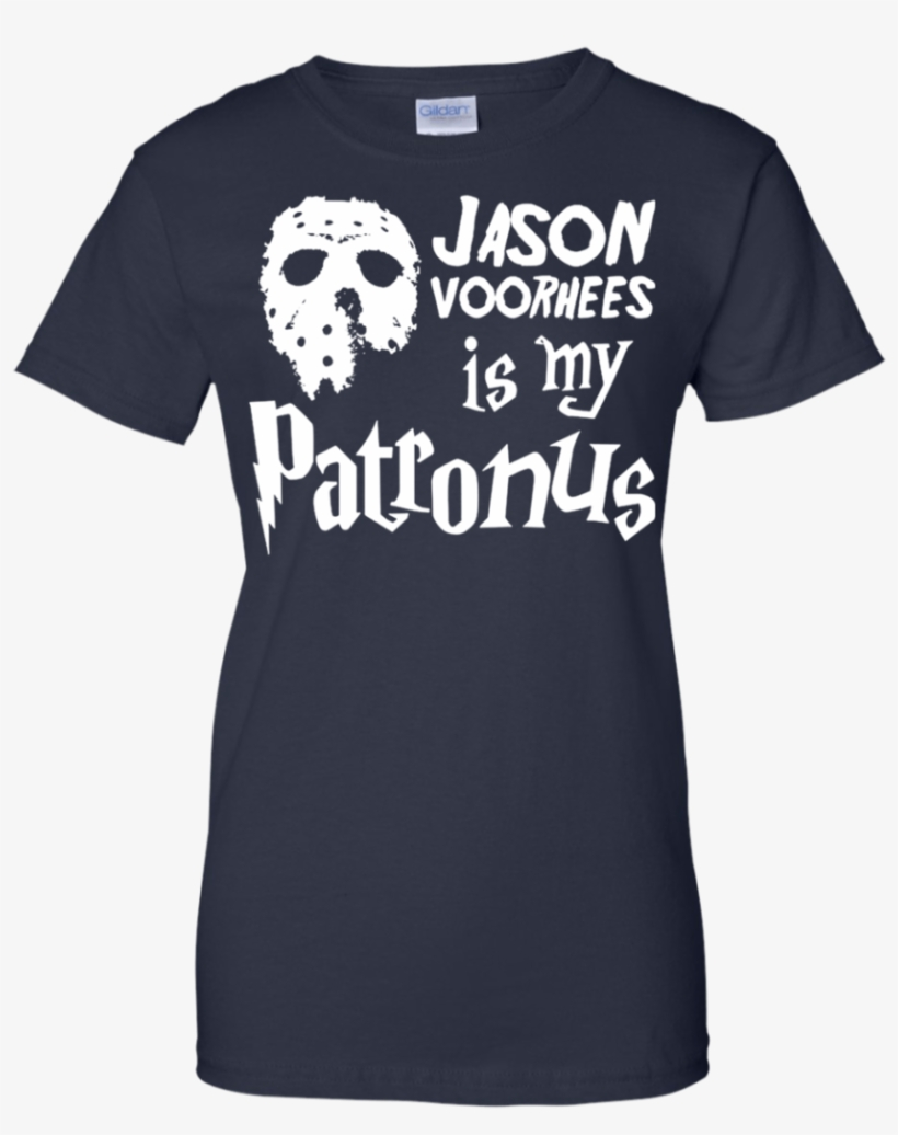 Jason Voorhees Is My Patronus Friday The 13th Harry - Diamond Dogs T Shirt, transparent png #330147