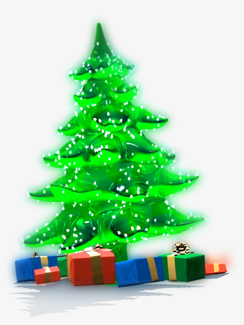 Christmas Tree And Presents Png Clip Art Library Download - Christmas Tree, transparent png #330265
