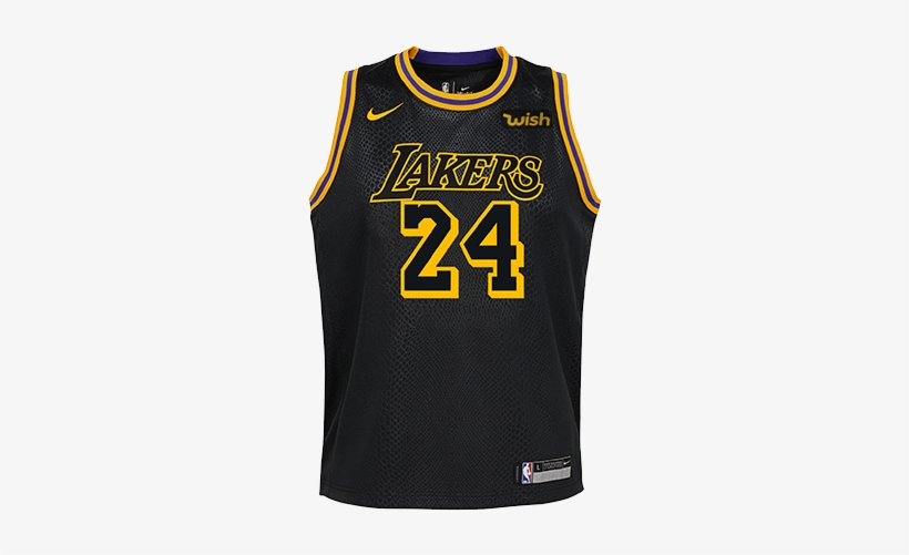 Kobe Bryant Youth City Edition Swingman Jersey - Kobe Bryant Jersey, transparent png #330375