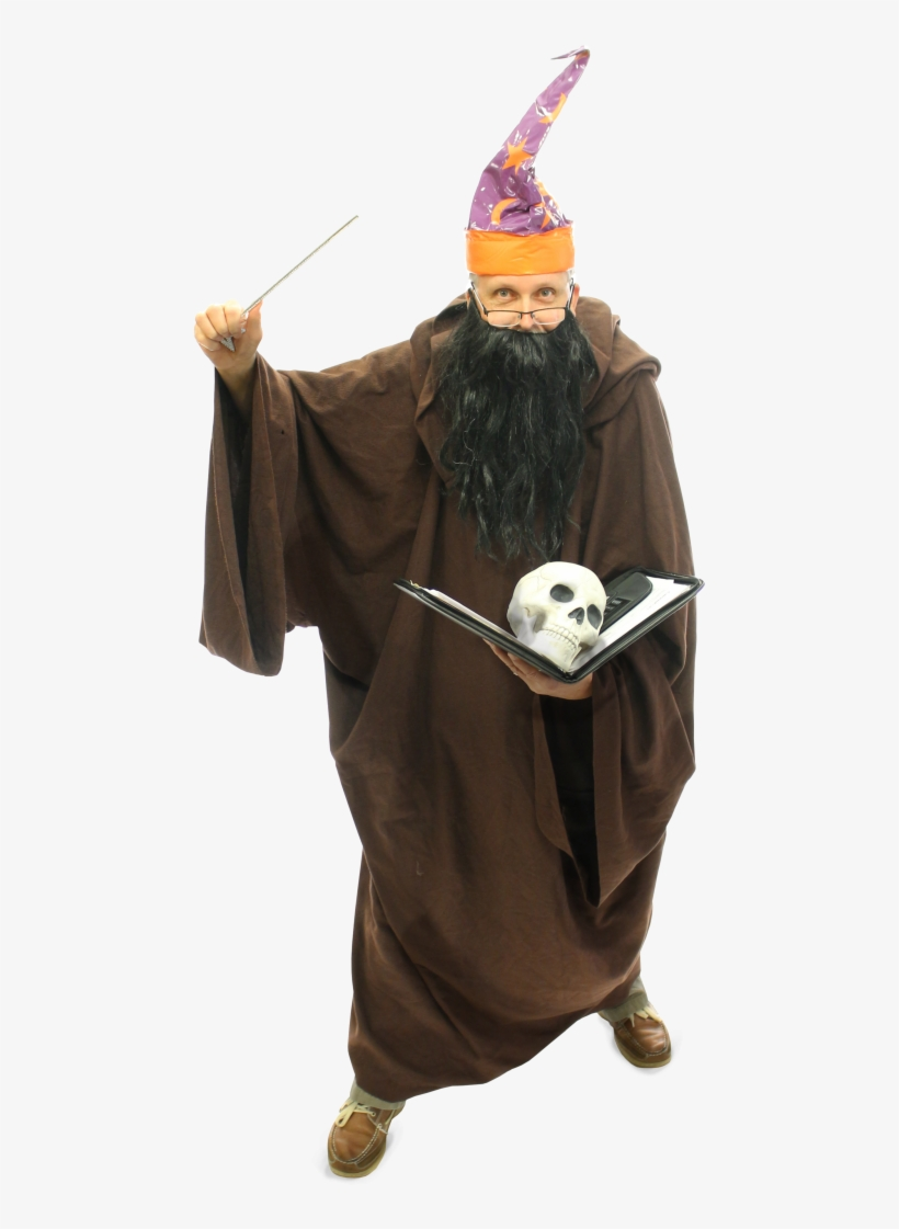 Wizard - Wizard Costume Png, transparent png #331074
