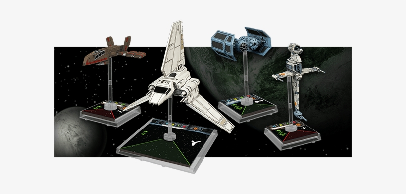 Star Wars X-wing Miniatures Expansion Iii Ships Picture - Star Wars X Wing Miniatures Empire, transparent png #331210