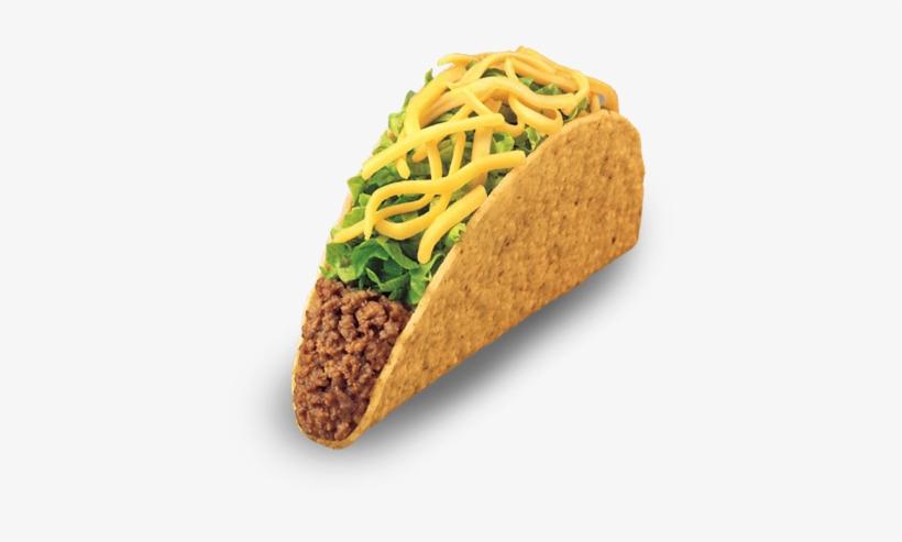 Crunchytaco - Taco Bell Crunchy Taco, transparent png #331465