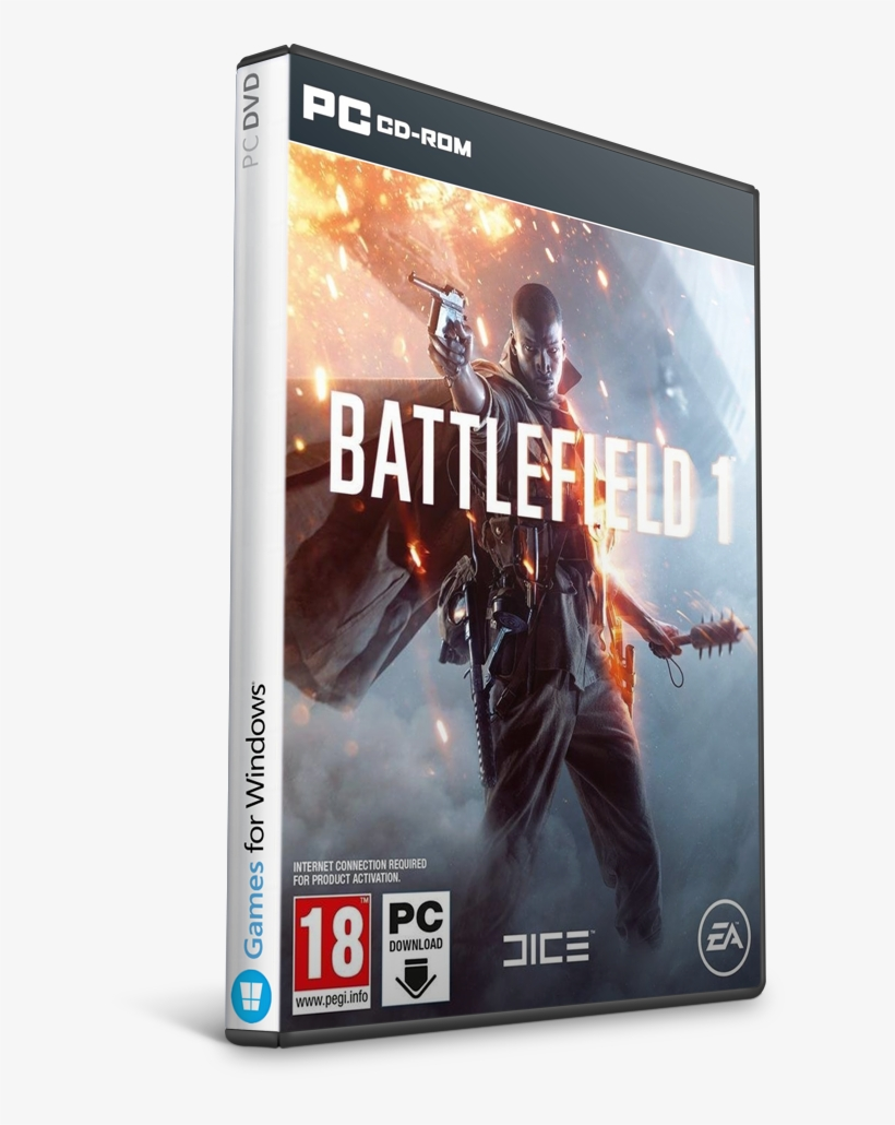Battlefield 1-cpy - Electronic Arts Battlefield 1, transparent png #331619