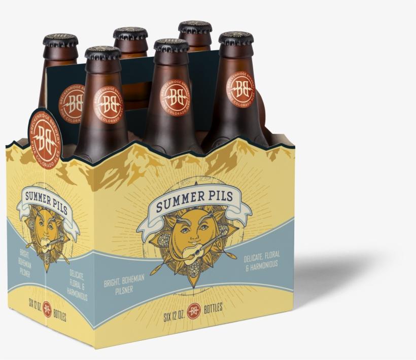 A Bohemian-style Pilsner, Summer Pils Features Saaz - Avalanche Amber Style Ale - 6 Pack, 12 Fl Oz Bottles, transparent png #332438