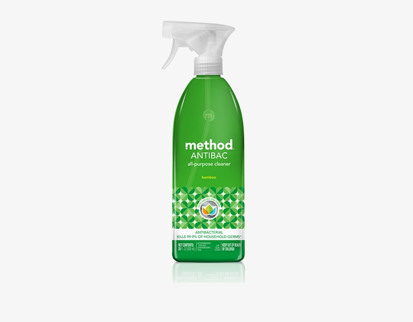 Antibacterial All-purpose Cleaner - Method Antibac All Purpose Cleaner, transparent png #332783
