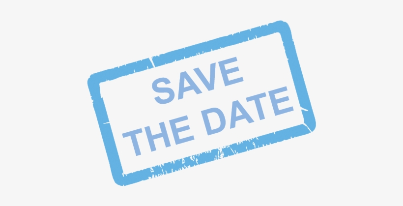 Save The Date Stamp Png Download Save The Date Png Blue Free Transparent Png Download Pngkey
