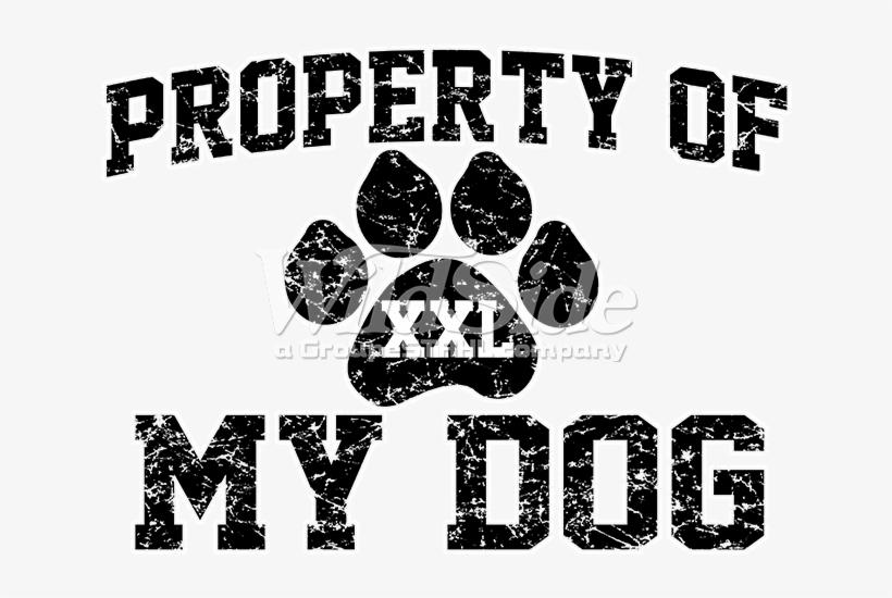 Property Of My Dog - Unisex Short Sleeve T-shirt / Property Of My Dog, transparent png #333222