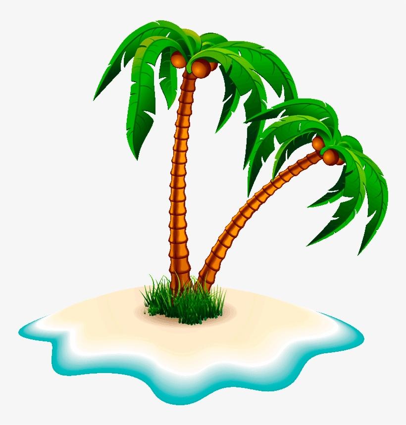 Clipart Png Coconut Tree Clip Art Free Transparent Png Download