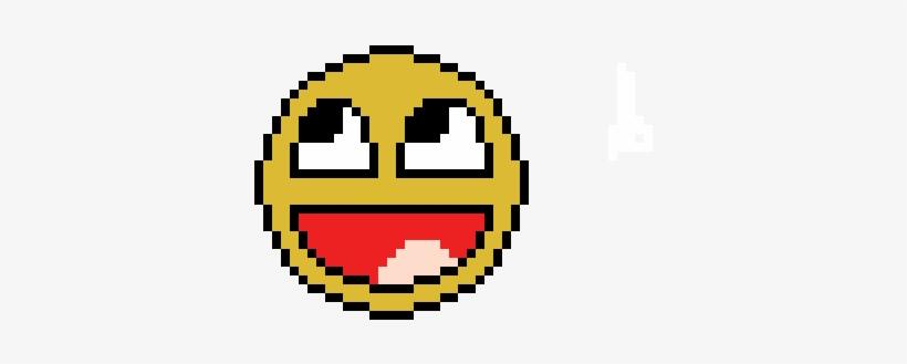 Pixel Art Smiley Emoji Perler Beads Free Transparent Png