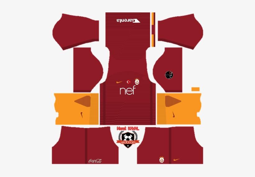 Galatasaray Dream League 16&fts Fantastik Kırmızı Forma - Kit Real