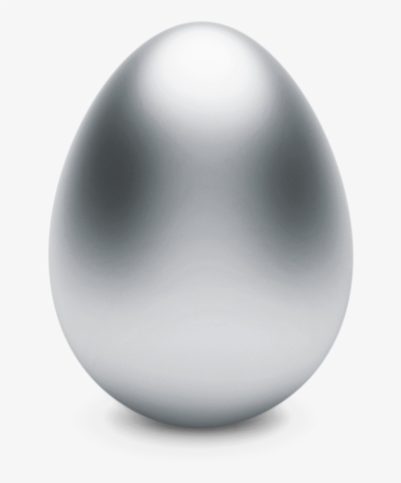1st To Find The Silver Egg Wins Http - Gray Easter Egg Png, transparent png #336041
