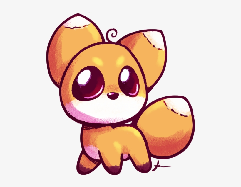 Fox Cute Drawing At Getdrawings Cute Drawing Of A Fox Free Transparent Png Download Pngkey