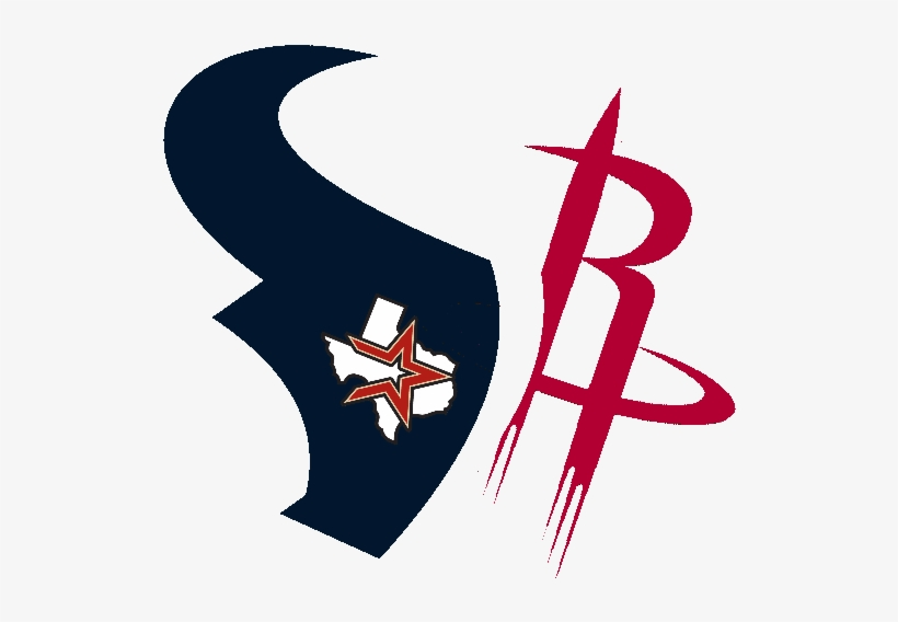 Rockets Texans Astros By - Houston Rockets And Texans, transparent png #337600