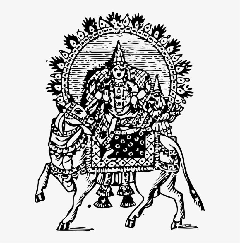 Mahadeva Parvati Hinduism Drawing Amarnath Temple Riding Shiva
