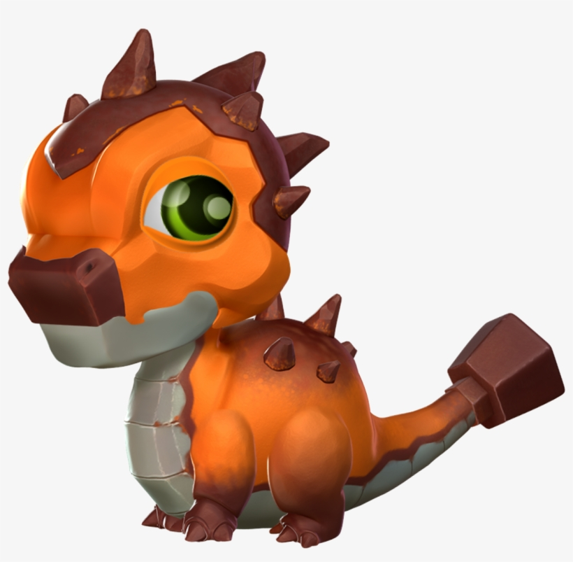 Rust Dragon Baby - Dragon Mania Legends Dragon Bébé, transparent png #337970