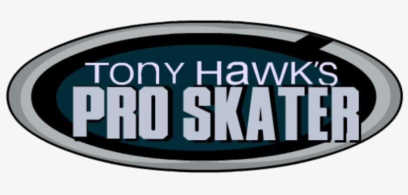 Tony Hawk S Pro Skater Tony Hawk Pro Skater Logo Free Transparent Png Download Pngkey